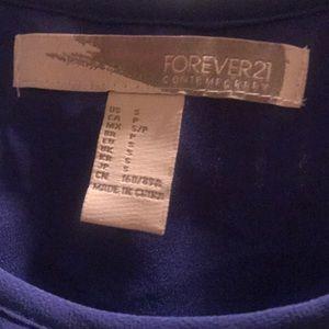 Forever 21 Dresses - Purple lines forever 21 dress worn once